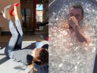 サラ・ジェシカのヒール体操からオーランド・ブルームの氷風呂まで「セレブのど根性ボディ磨き」
