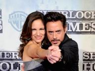 ロバート・ダウニー・Jr & スーザン・レヴィン/Robert Downey Jr. and Susan Levin