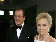 Roger Moore & Christina Tholstrup/ロジャー・ムーア&クリスティーナ・ソルストラップ