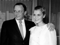 Frank Sinatra and Mia Farrow/フランク・シナトラ&ミア・ファロー