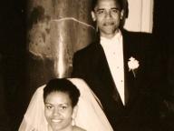 バラク・オバマ & ミシェル・ロビンソン/Barack Obama and Michelle Robinson