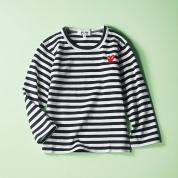 ギャルソンプレイのロングTシャツ