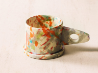 Echo Park Potteryのマグカップ