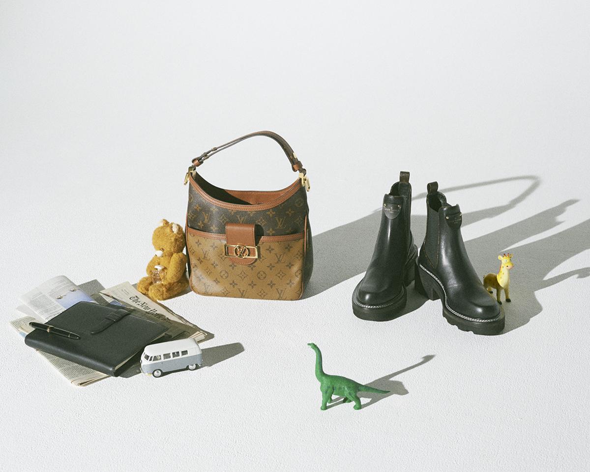バッグ&シューズで'90sスタイルを再解釈【ルイ・ヴィトン】