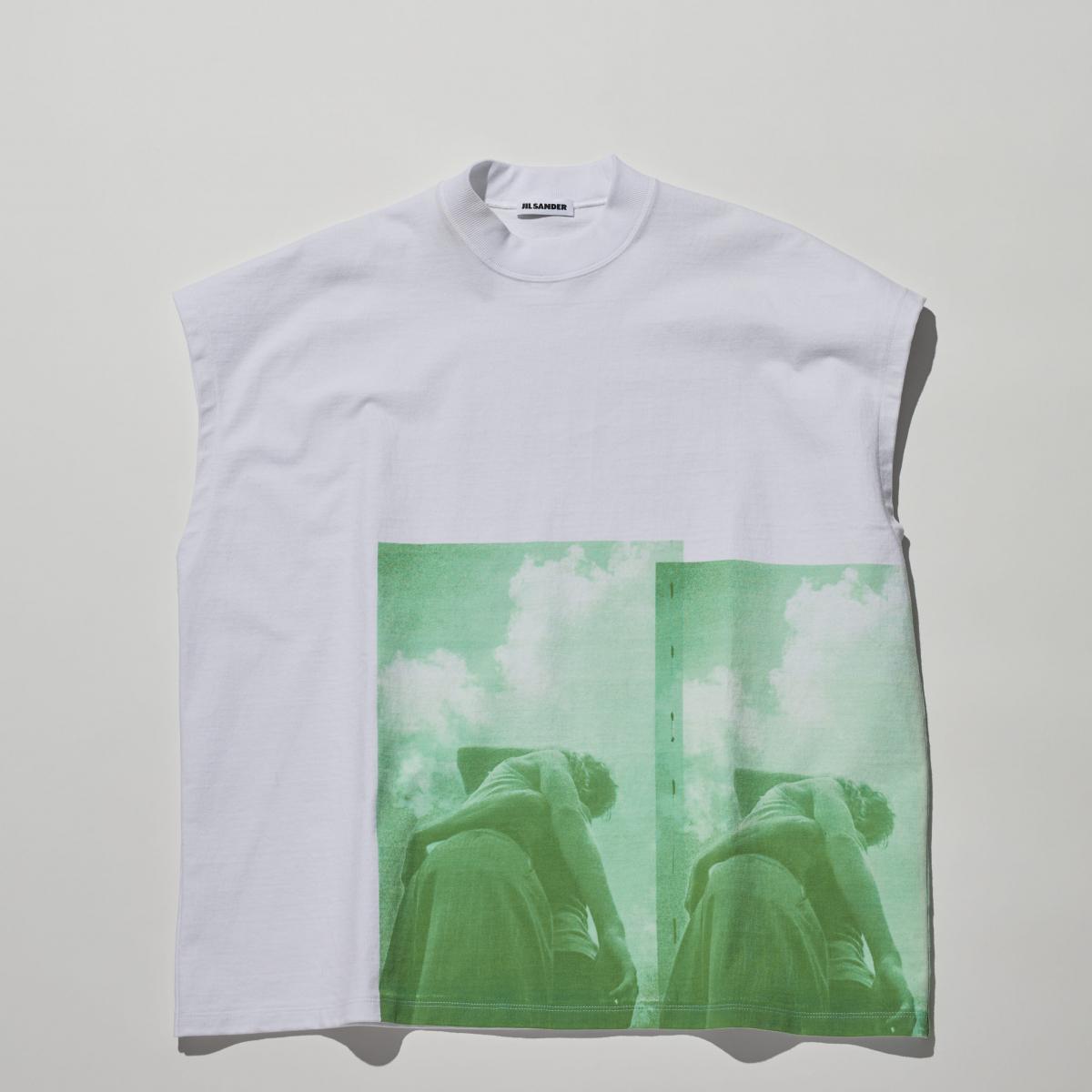 モードに進化したフォトTシャツ【ジル サンダー】