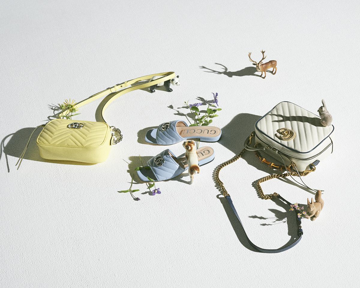 ポジティブなバイブスあふれるパステルカラー【グッチ】