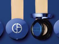 青が叶える透明肌。ジョルジオ アルマーニ ビューティから、クッションファンデーションが到着!