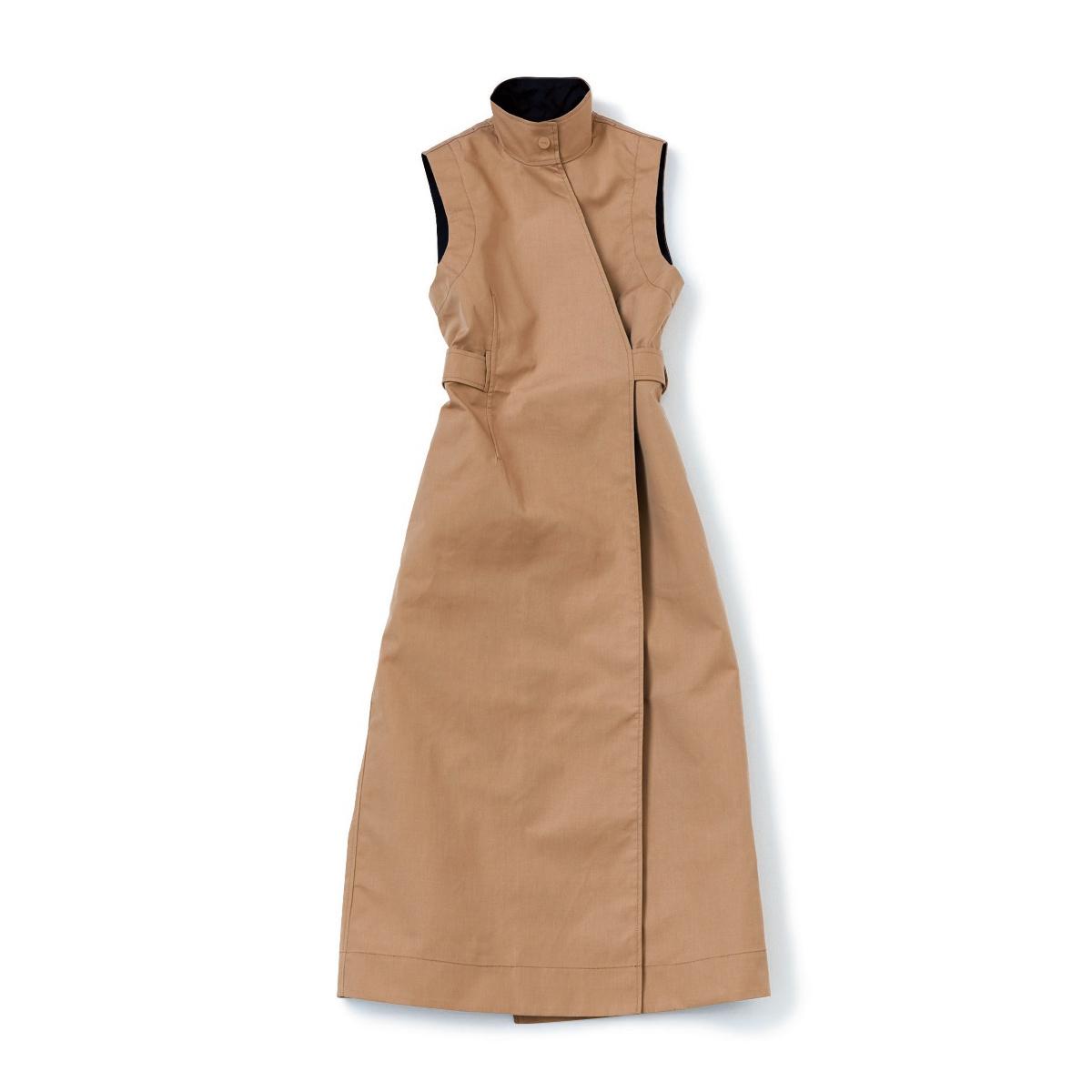 ガニー「トレンチコートドレス」