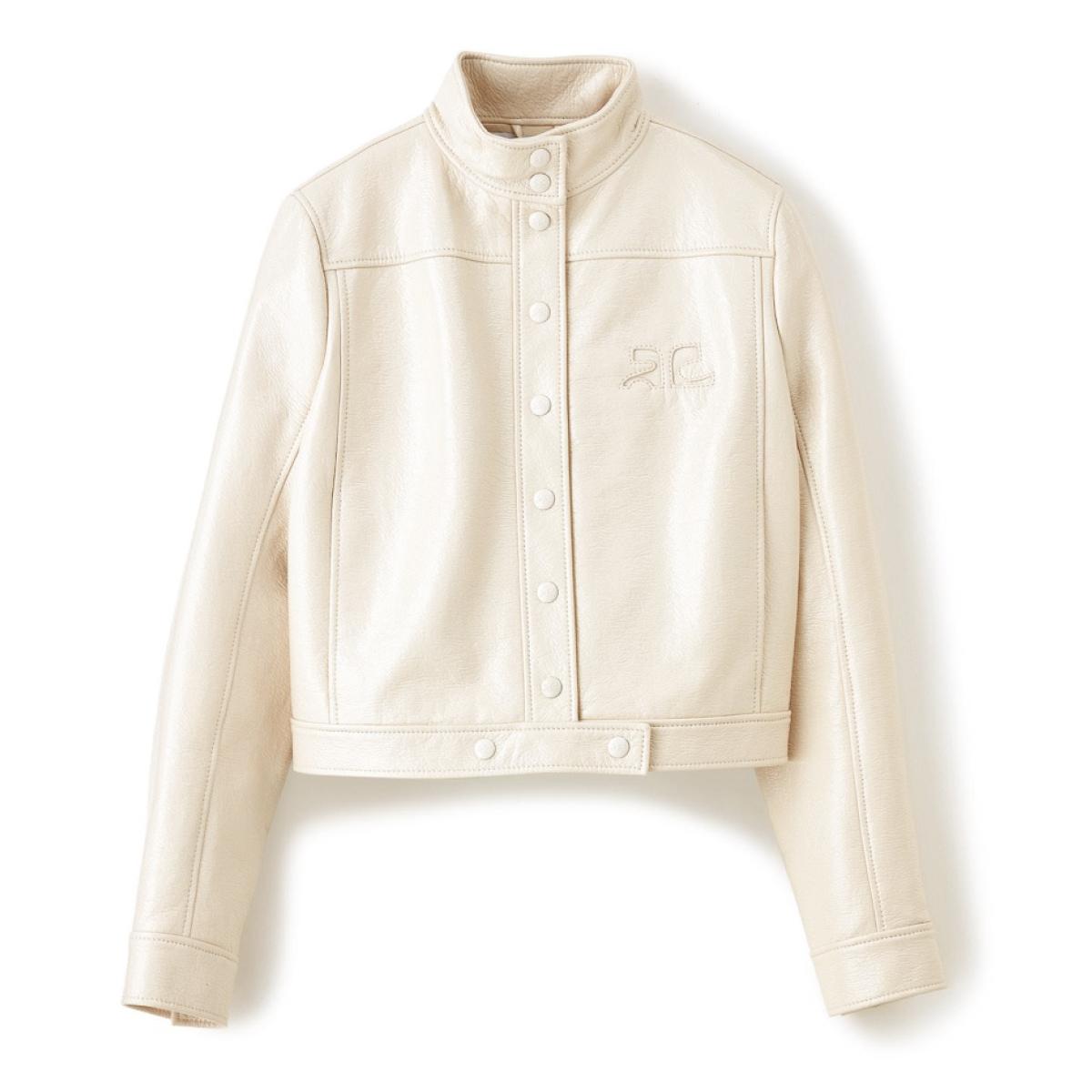 COURREGESのエコビニールジャケット
