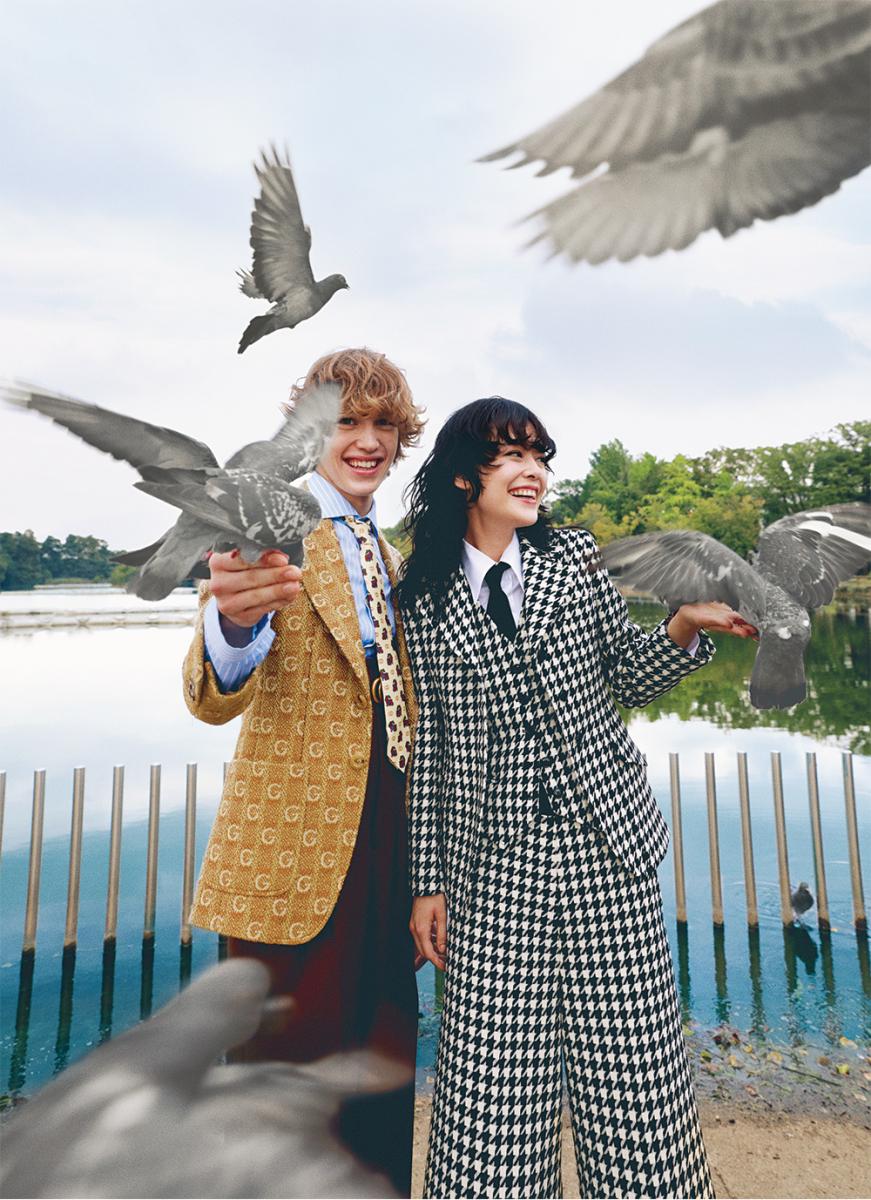 比翼の鳥たちに愛の言葉を伝えて