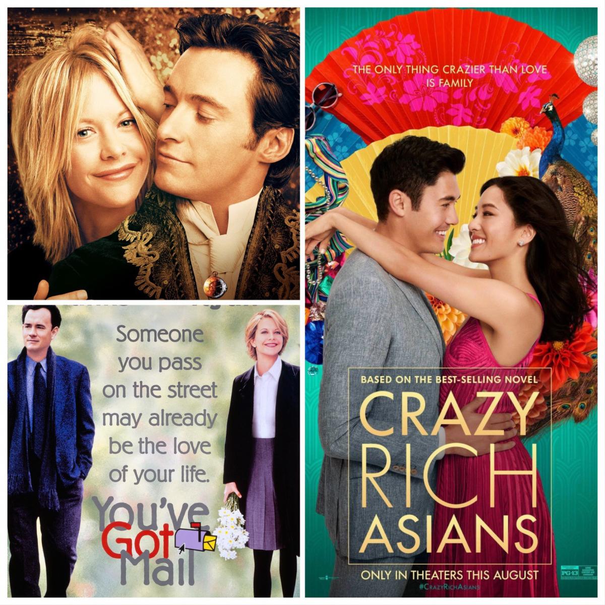 【非現実的、だからロマンティック!編】「こんなことありえない!」と思いながらもなぜかドキドキ。ロマンティックなストーリーに心ときめく『ニューヨークの恋人』(2001)、『ユー・ガット・メール』(1998)、『クレイジー・リッチ!』(2018)。