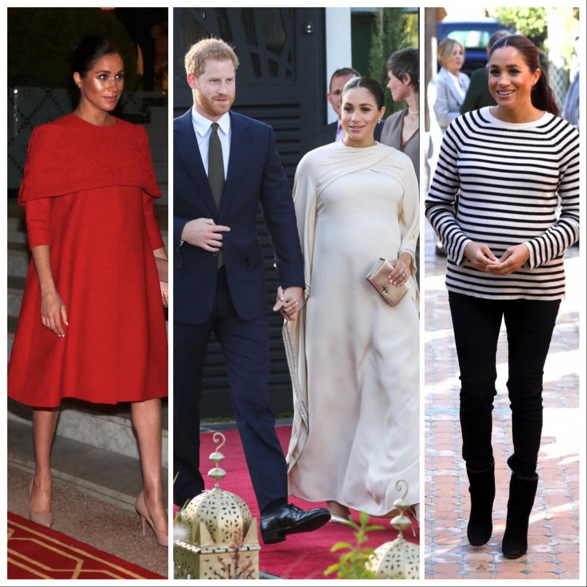 4月下旬〜5月上旬に出産を予定している、英王室のメーガン妃(37)。フェミニンなマタニティスタイルが印象的だったキャサリン妃(37)に対し、エッジィでモード感
