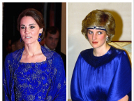 ダイアナ元妃とキャサリン妃、時を超えてシンクロするふたりのファッション