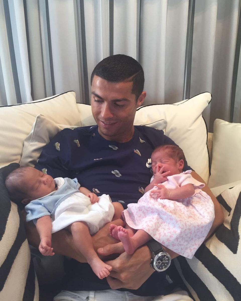 Photo : Instagram (cristiano)