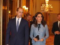 第3子を妊娠中のキャサリン妃、美しいドレス姿のお腹がふっくら!