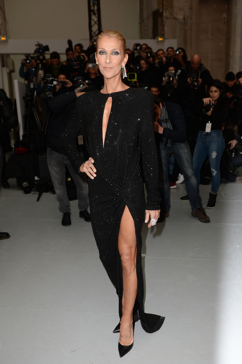 ⑤本当に50歳? セリーヌ・ディオンのスリットドレス姿に賞賛の声が続出