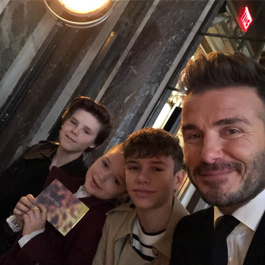 Photo : Instagram (davidbeckham)