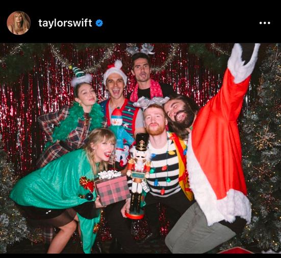 Photo : Instagram (taylorswift)