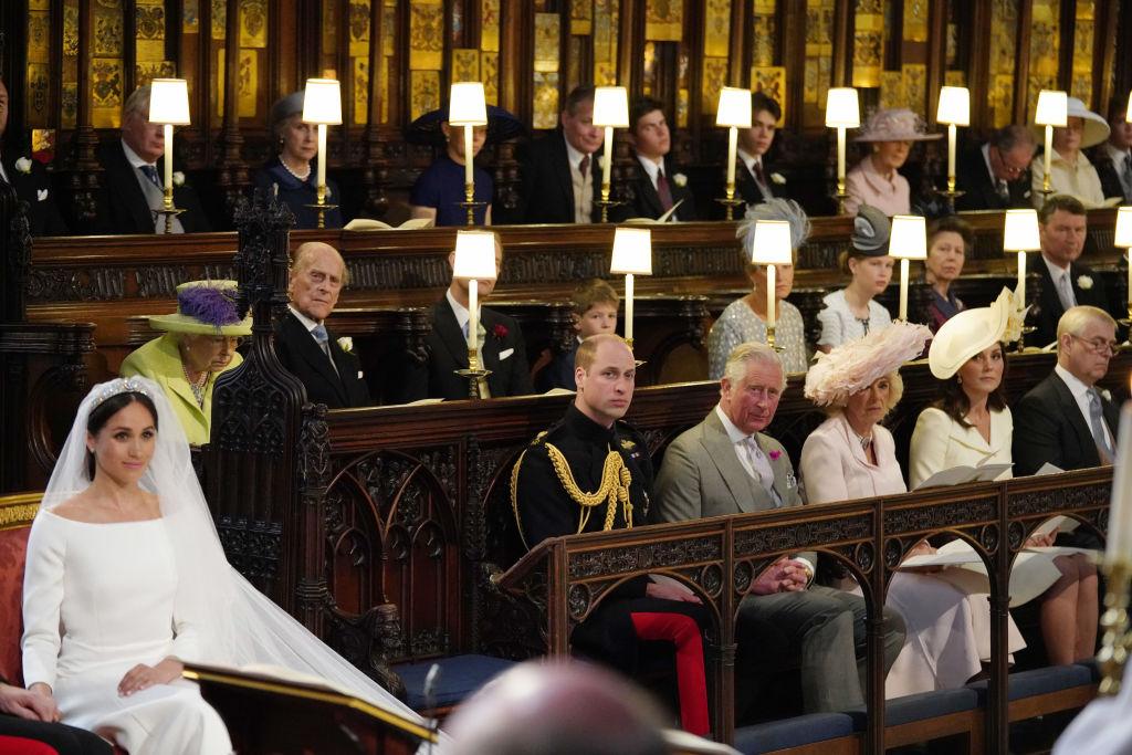 ウィリアム王子の左に残された空席は、ダイアナ元妃のもの?