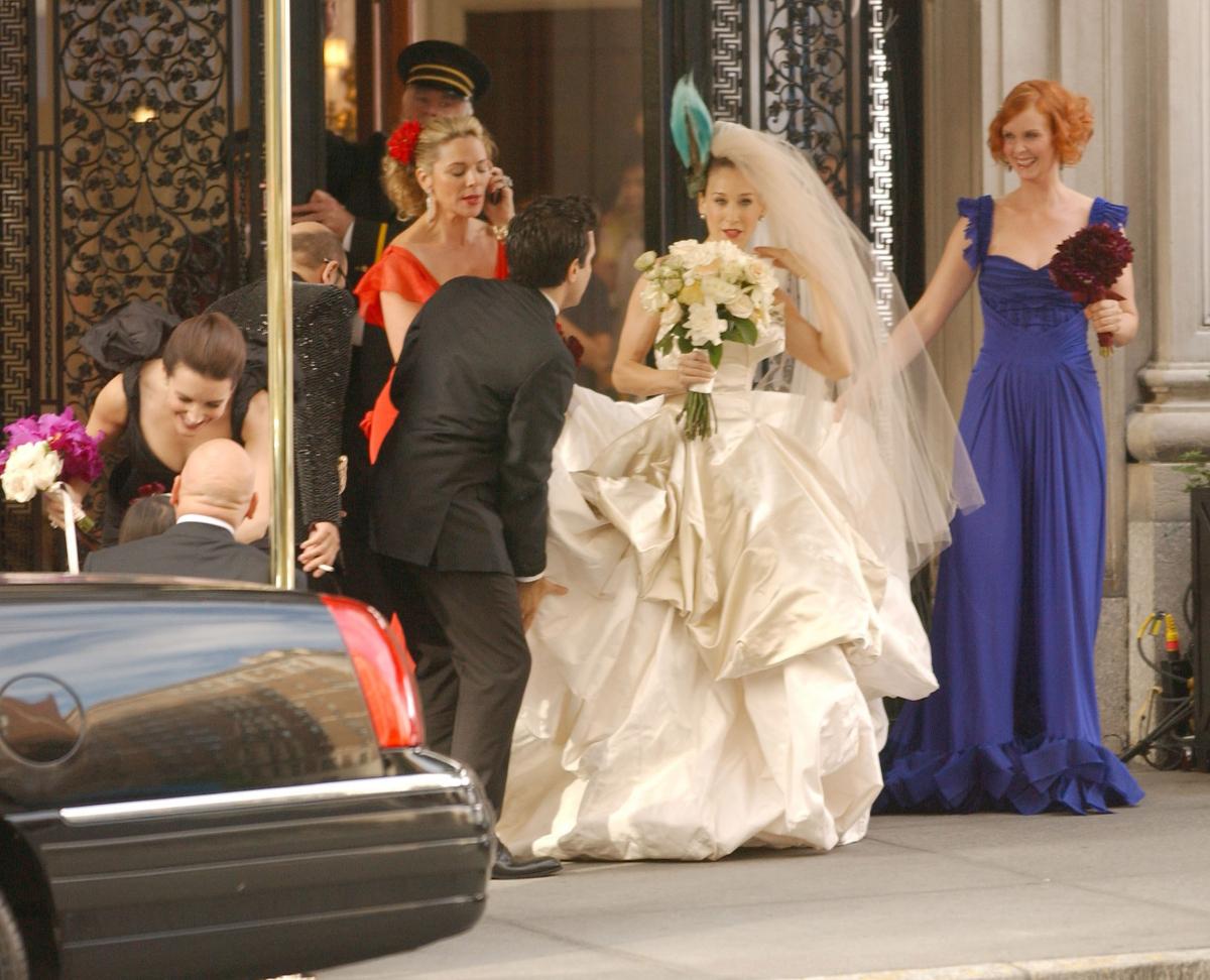 映画版『セックス・アンド・ザ・シティ』のワンシーンより。Photo : Getty Images