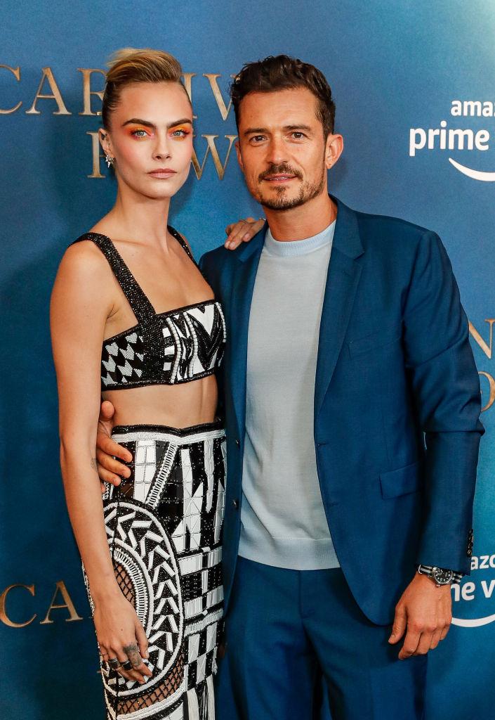 8月30日に配信スタートしたドラマ、『カーニバル・ロウ』で主役を演じるカーラ&オーランド。