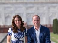 ウィリアム&キャサリン夫妻、タージマハルで故・ダイアナ妃の写真を再現