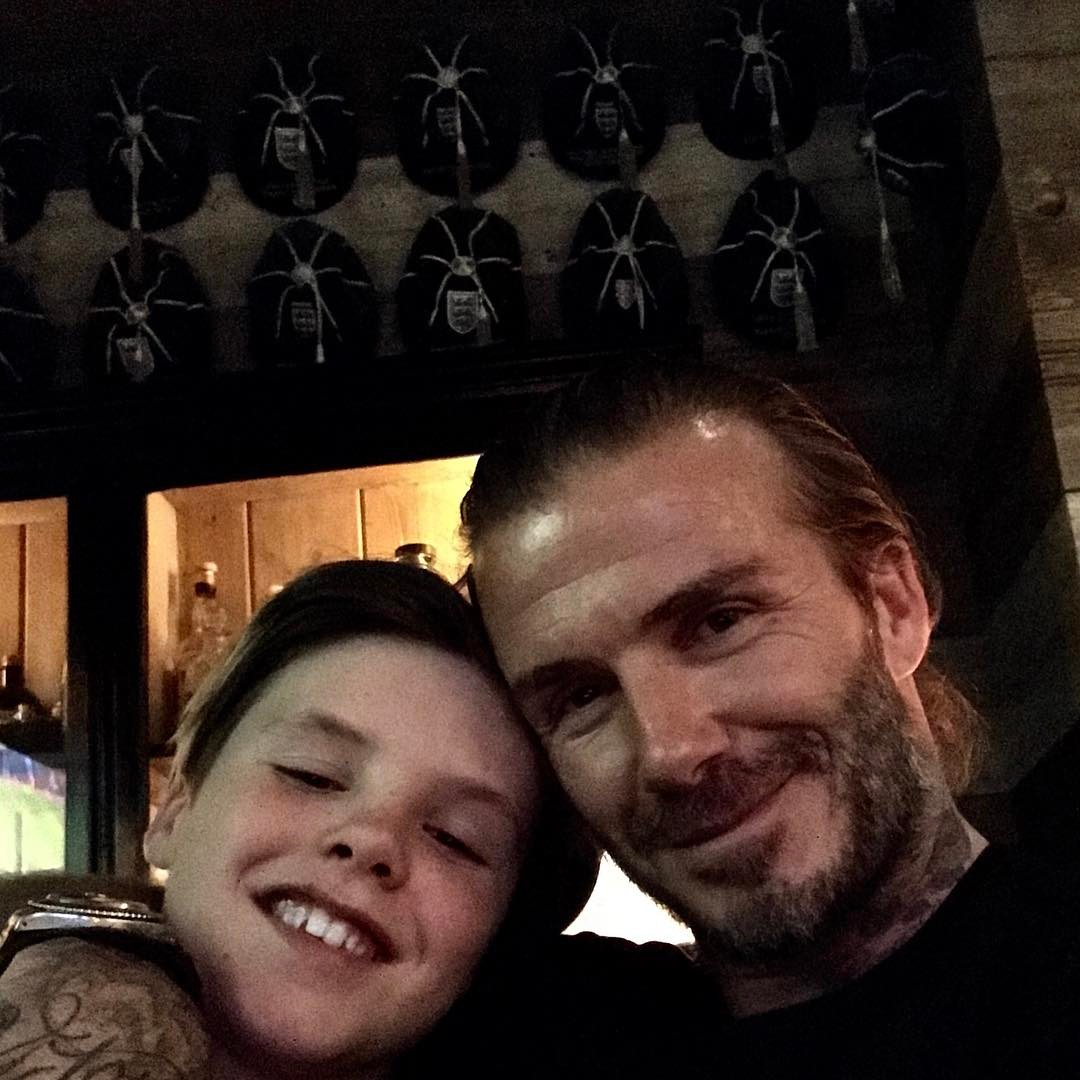 Photo : Instagram (cruzbeckham)