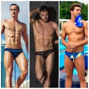 驚異の逆三角形ボディにうっとり! 世界水泳選手権で見逃せない、美男子ギャラリー