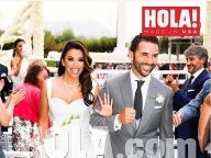 エヴァ・ロンゴリアの結婚式に、豪華メンバーが集結!