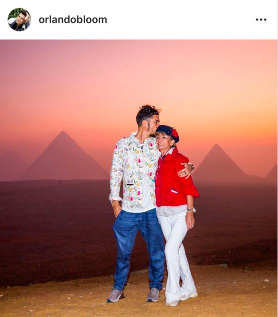 Photo : Instagram (orlandobloom)
