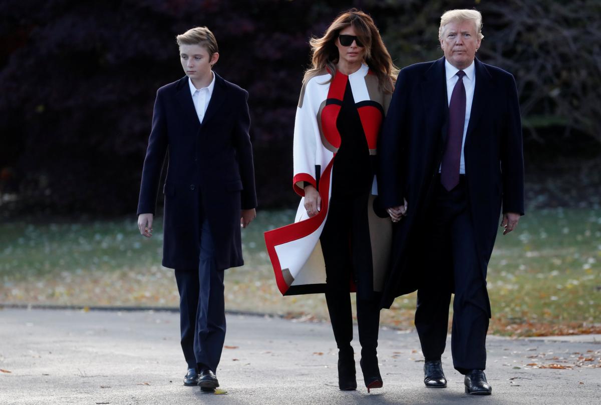 ⑤世界が大絶賛! トランプ大統領の息子バロン、驚くほどイケメンに成長