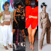 総資産額世界一! 今最も輝く歌手リアーナ  現在までのファッション遍歴をプレイバック