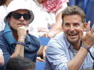 ハリウッドの「二大ブラッド」が並んで観戦! 実は仲良しなふたりを全米オープンテニスの客席でキャッチ