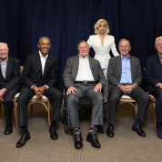 レディー・ガガが出演するチャリティイベントに、歴代米大統領5人が集結!