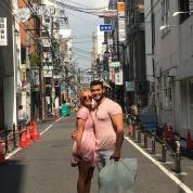 ブリちゃん、話題の恋人と日本観光デートをエンジョイ!