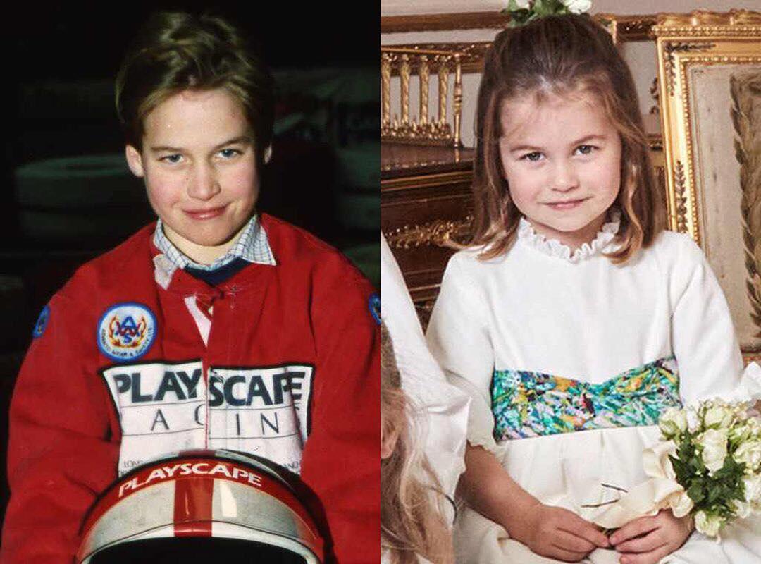 ③王室ファンもびっくり! シャーロット王女&ウィリアム王子の瓜二つ写真