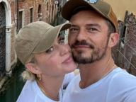 ケイティ・ペリー&オーランド・ブルーム、人目も気にせずキスを連発! 仲睦まじいベネチア旅行がパパラッチされる