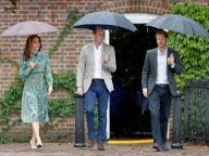 没後20年。英王子ふたりとキャサリン妃、ダイアナ元妃が愛した庭園を訪れ追悼