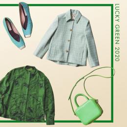 グリーンカラーの最旬アイテムで春のパワーチャージ!