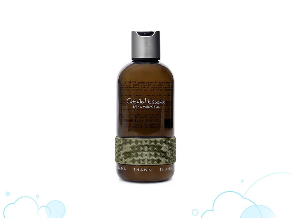 【+massage oil】エキゾチックな香りに包まれ、スパ気分に浸れる