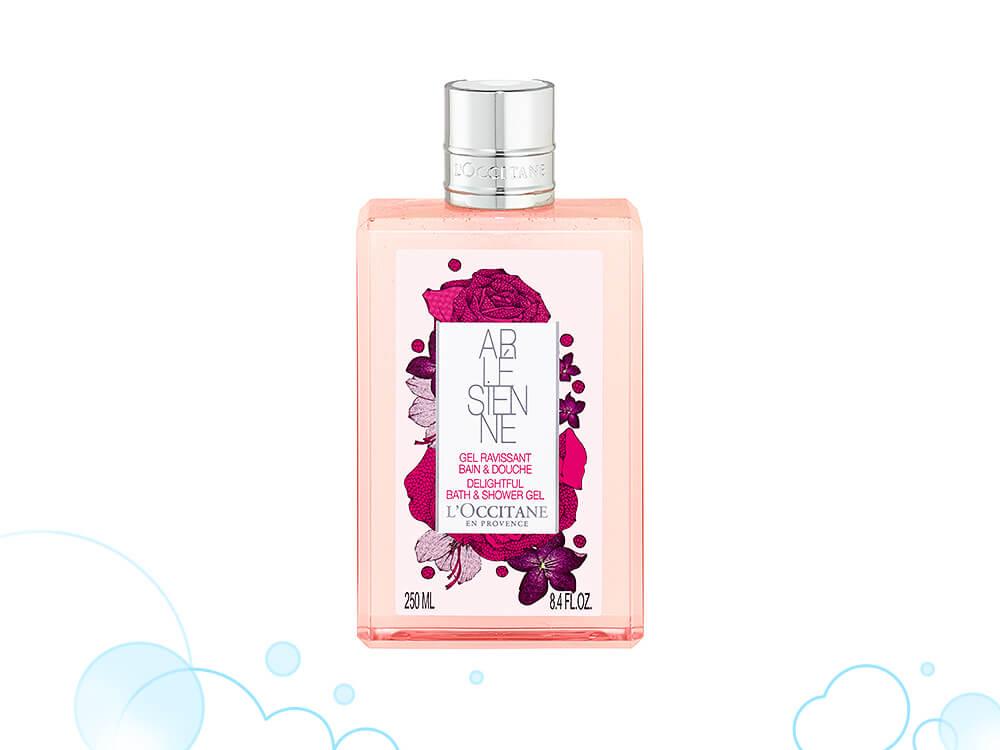 【+body wash】リボンブーケフローラルのエレガントな香りが漂う