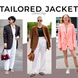 【テーラードジャケット】今秋らしいスタイリングをチェック!