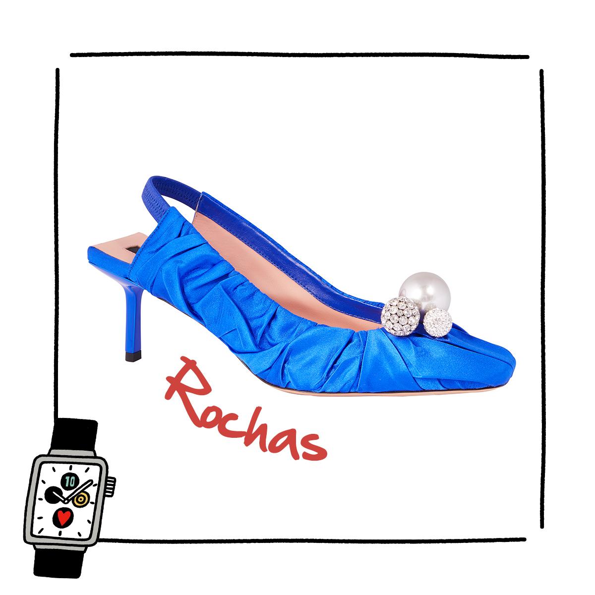 鮮やかなブルーでドレスアップ【ロシャス】
