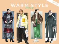 【モードな防寒スタイル】寒い季節をスタイリッシュに乗り切る!