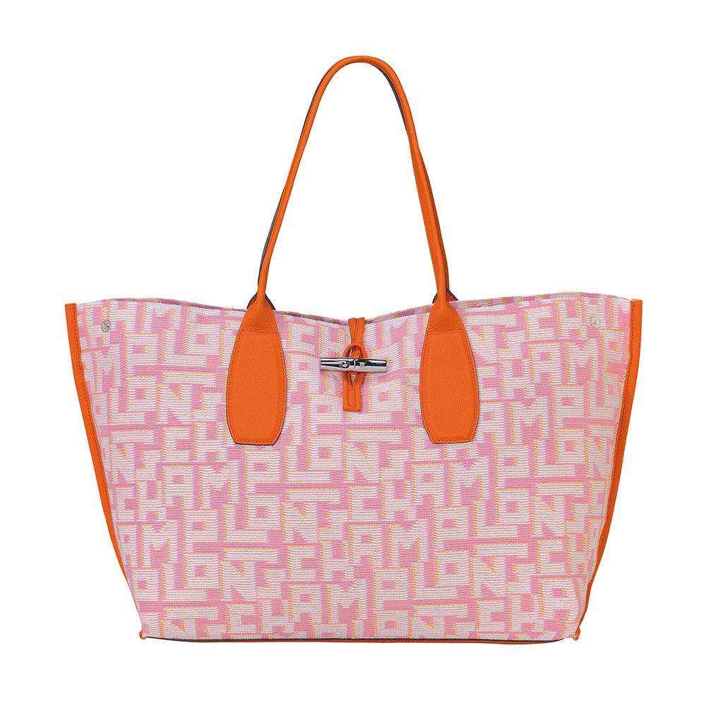 ハッピーな春を誘う、大容量のバッグ【ロンシャン】