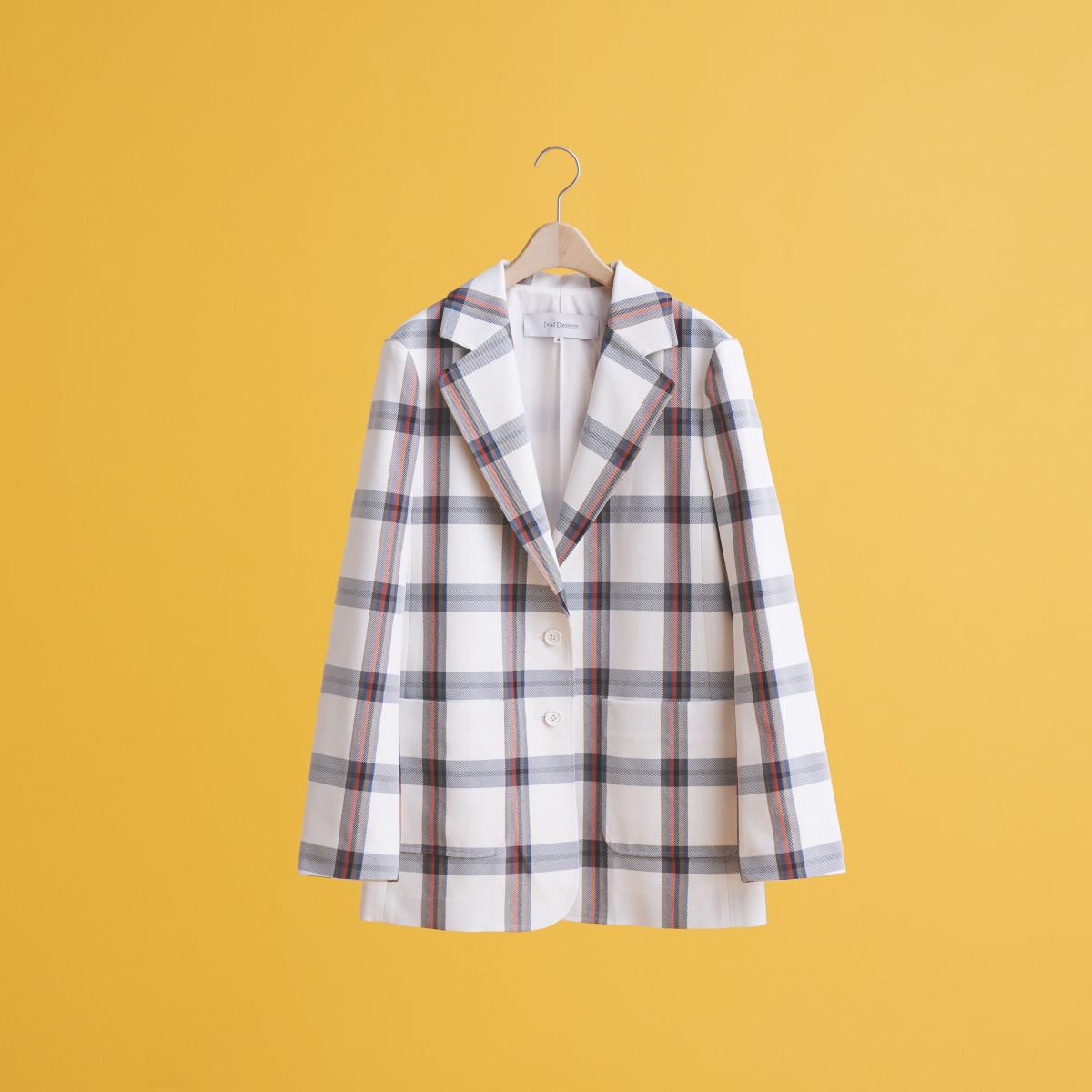 【J&M デヴィッドソン】環境にも優しいテーラードジャケット
