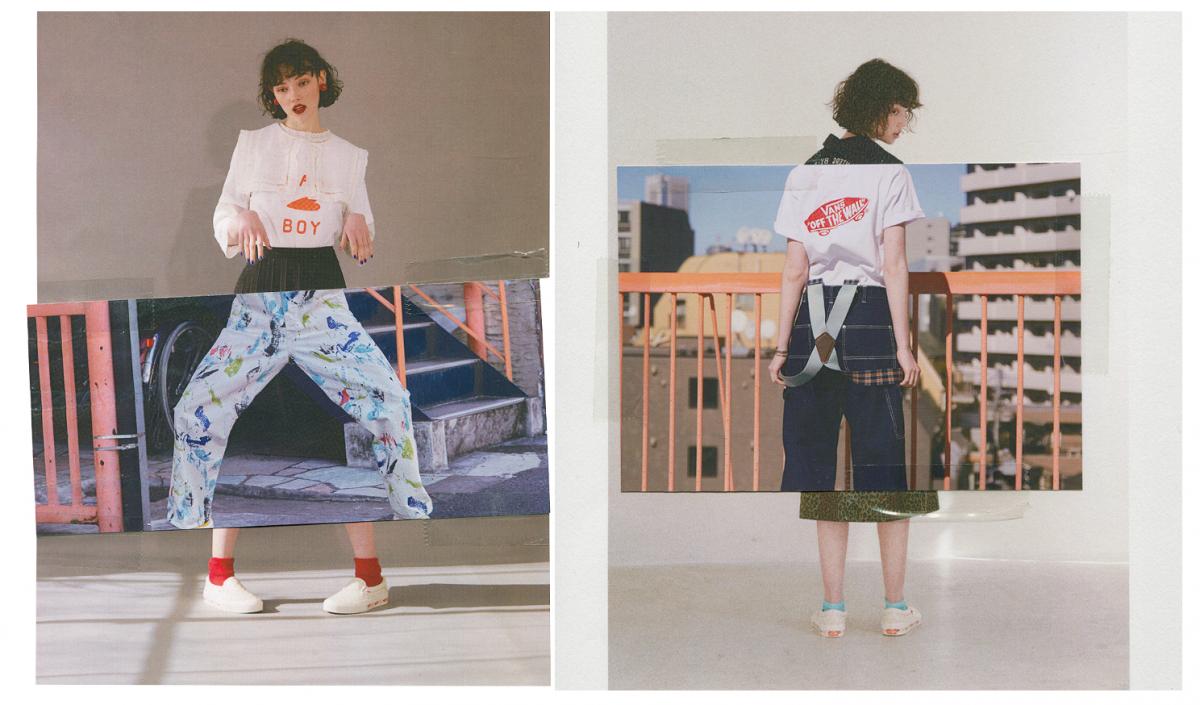 Tシャツ¥5,500/VANS × BEAMS