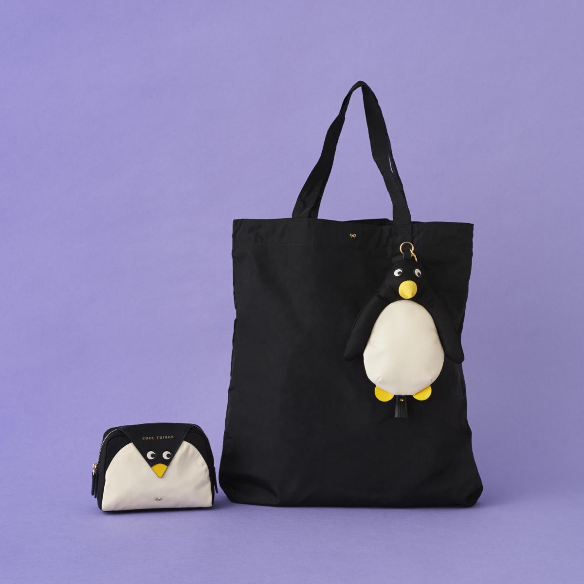 【アニヤ・ハインドマーチ】真っ白なお腹がキュートなペンギンギフト