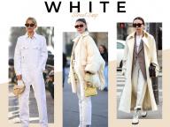 【真冬のホワイトルック】寒いからこそ、白が着たい!