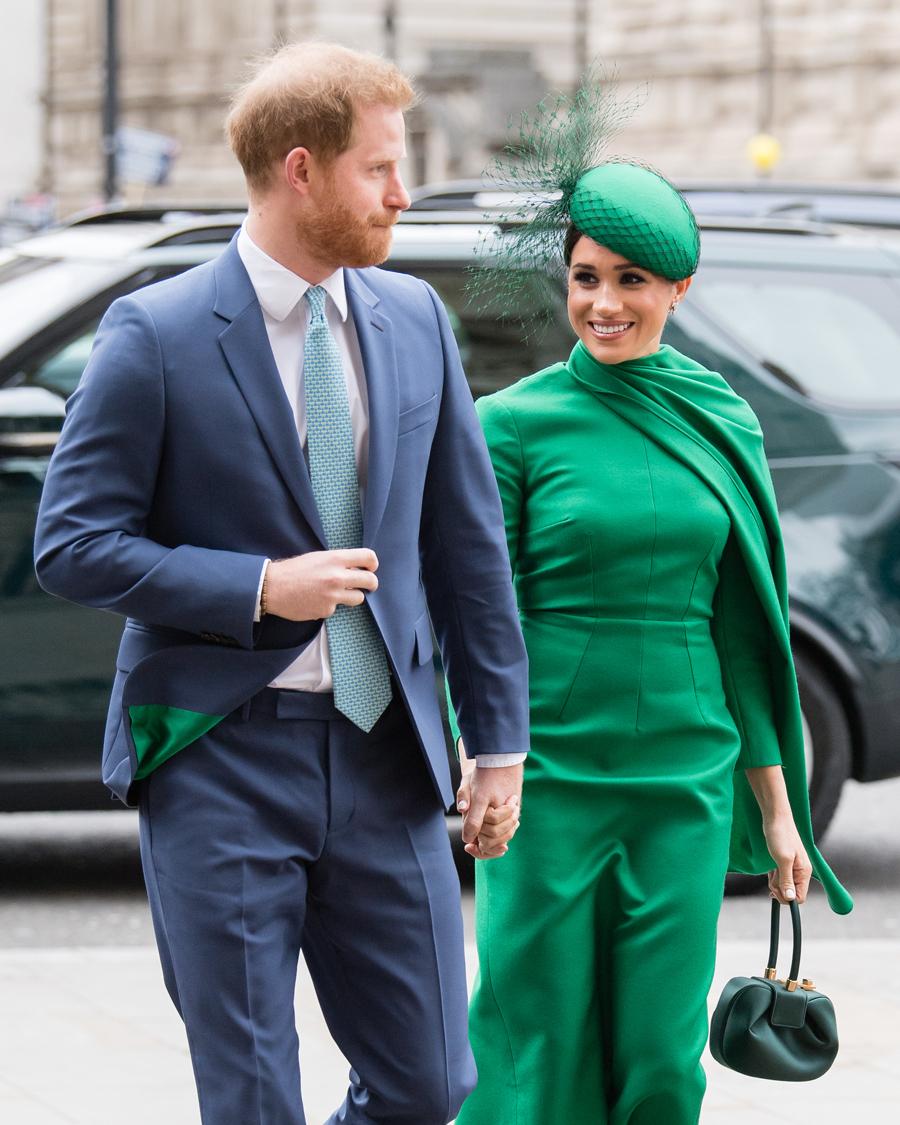 2020年3月9日(現地時間)、コモンウェルス・デーの礼拝に出席したヘンリー王子とメーガン妃。これが最後の公務となった。